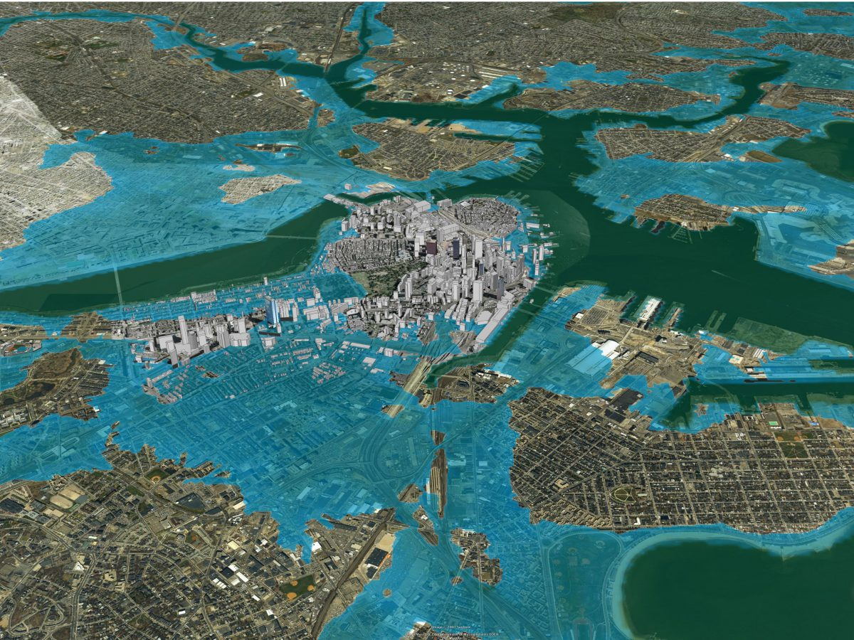Inundation Mapping – 2030 Palette
